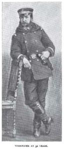 Tissandier at age 32.  Via McClure's Magazine, December 1894.