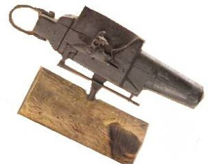 Image of a cemetery gun, from About.com.