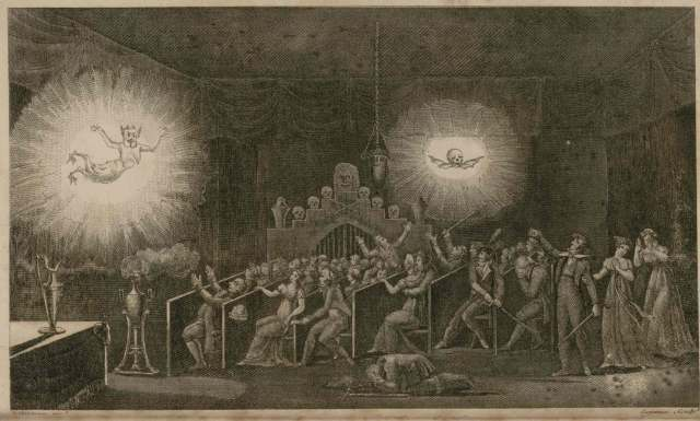 Robertson's Phantasmagoria, from his Memoires.