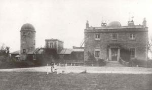The Armagh Observatory, c. 1883. (Via Wikipedia)