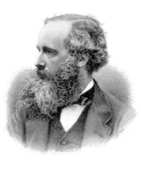 James Clerk Maxwell, dropper of cats.  Via Wikipedia.