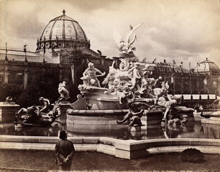The Fontain Lumineuses, at the 1889 Paris World's Fair. (source)