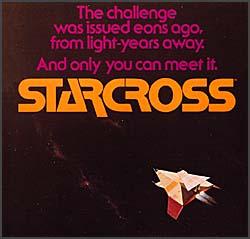 The box art for Starcross, via Wikipedia.