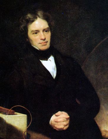 Portrait of Michael Faraday, 1842.  Via Wikipedia.
