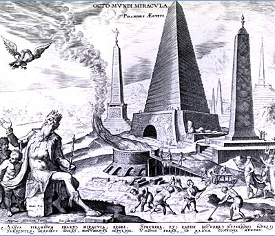 The Great Pyramid, as imagined by Heemskerck.
