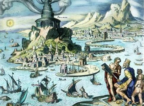 The Pharos of Alexandria, as imagined by Maarten van Heemskerck.