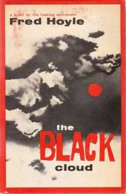 First edition cover of The Black Cloud, via Wikipedia.
