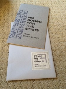 Published by White Noise Press, it comes in an elegant envelope.