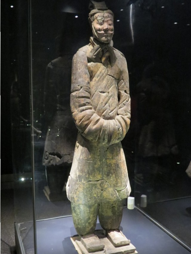 A Terracotta Official.