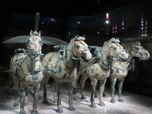 Second chariot horses.