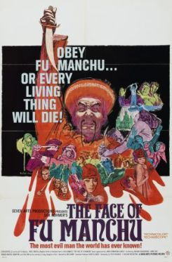 Poster for the 1965 film The Face of Fu Manchu.