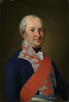 Maximilian I, King of Bavaria, in 1822 (via Wikipedia).