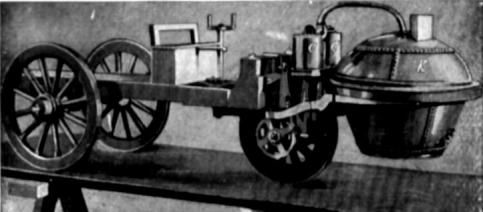 Nicholas-Cugnots-Dampfwagen
