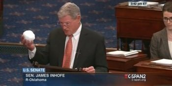 James Inhofe (R - Idiot)