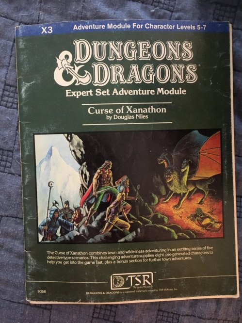 Old School Dungeons & Dragons: Part 3   Skulls in the Stars